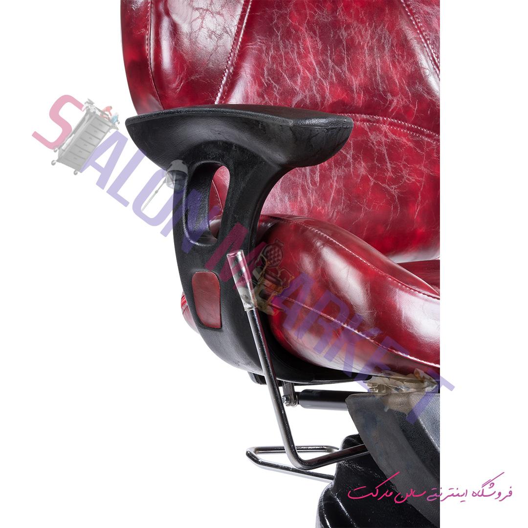 صندلی آرایشگاهی مردانه صنعت نواز مدل SN-6829