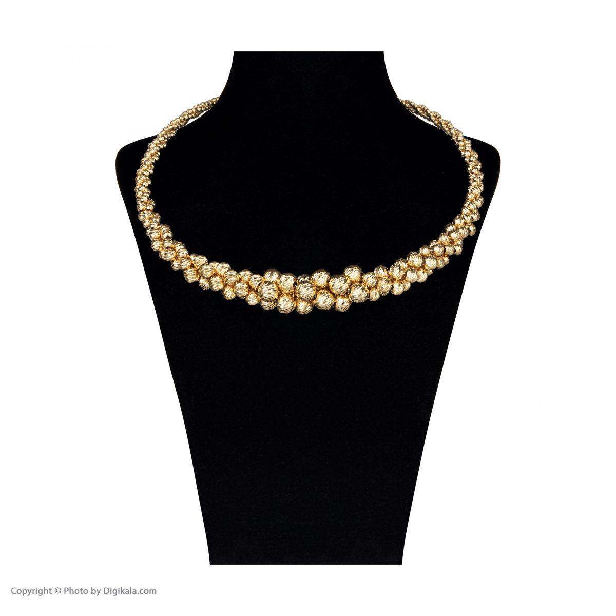 نیم ست طلا 18 عیار زنانه آلند کد H107