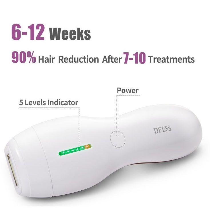 لیزر موهای زائد دس مدل GP586 PLUS