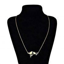 گردنبند نقره زنانه طرح پرنده