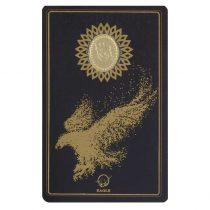 طلا گرمی 18 عیار کانیار گالری طرح عقاب کد 44